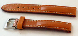 Padded Leather Watchband