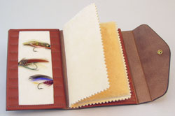 Deluxe Fly Wallet with Chamois/Fleece Center Page