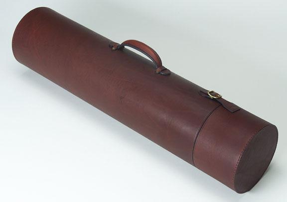 Arne mason leather custom handmade fly fishing rod reel for Fishing rod cases